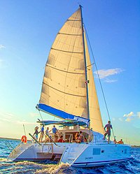 Playa del Carmen Catamaran Sailing