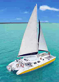 Catamaran Sailing Playa del Carmen