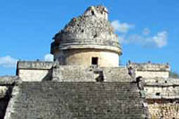 Observatory at Chichen Itza Ruins