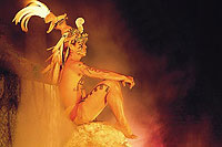 Night Show at Xcaret Park