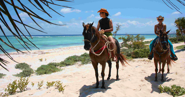 horseback riding on the beach playa del carmen