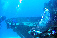 Wreck Diving Playa del Carmen