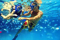 Great Snorkeling at Xel Ha Park