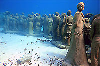 Underwater Museum Scuba Diving Cancun